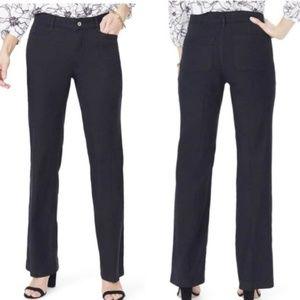NYDJ| Wylie Linen Stretch Lift Tuck Pants